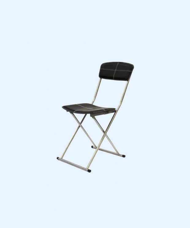 chaise pliante élégante vue de coté