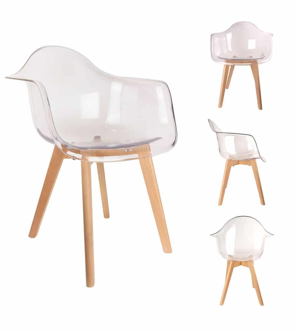 fauteuil transparent 3 vue