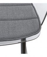 fauteuil moderne-transparent assise