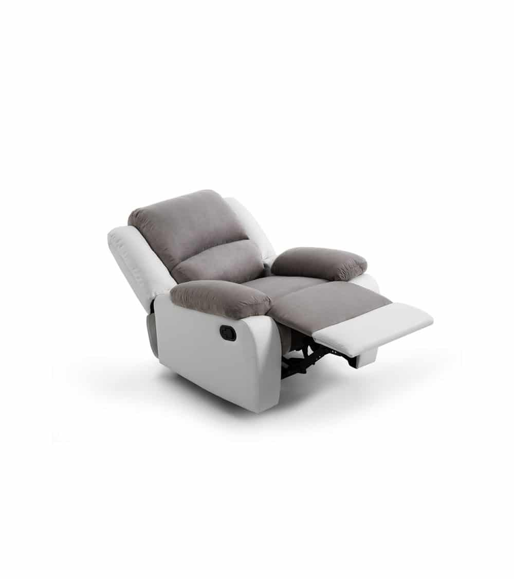 fauteuil relaxant manuel repose pieds