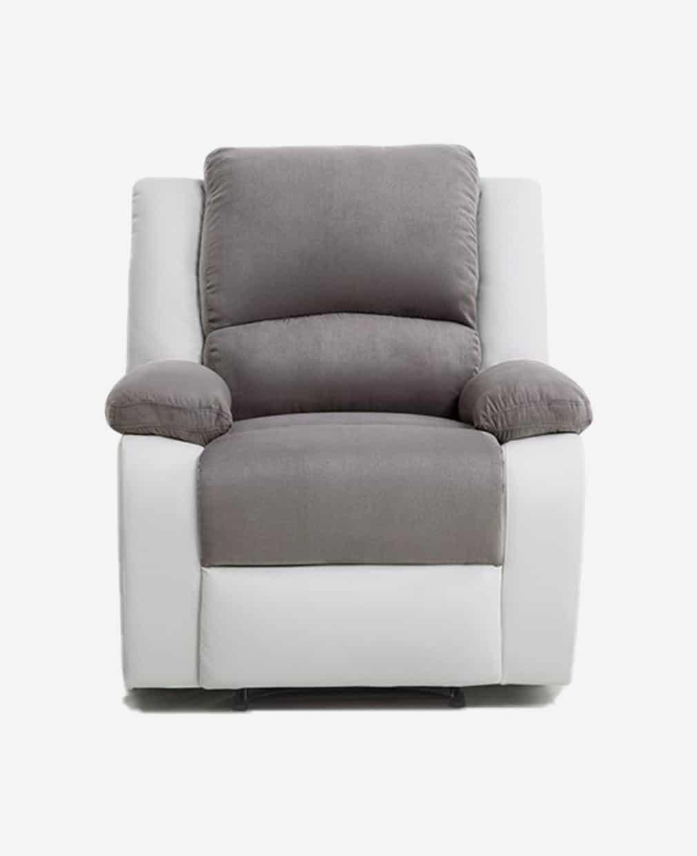 fauteuil relaxant manuel face