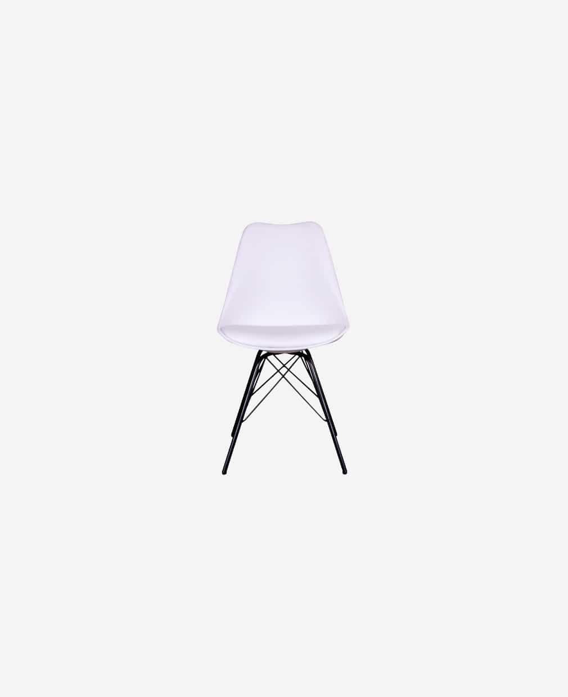 Chaise nordique blanche