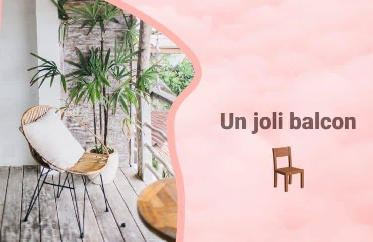 Bannière Les astuces pour décorer son balcon