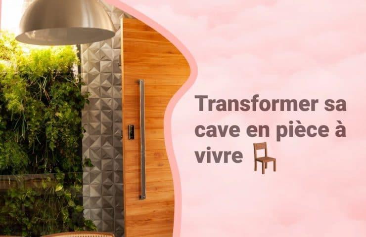 Bannière Cave aménagée en chambre