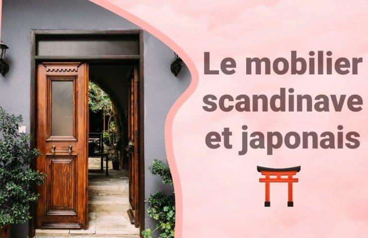 Bannière scandinave japonais