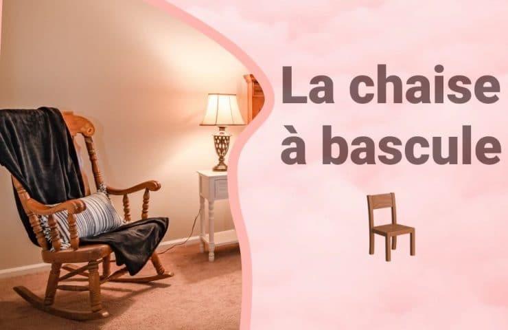 Bannière chaise à bascule