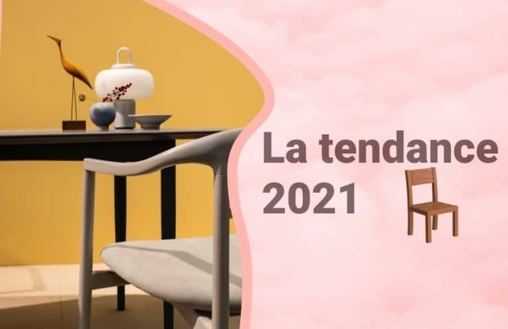 Bannière le mobilier tendance en 2021