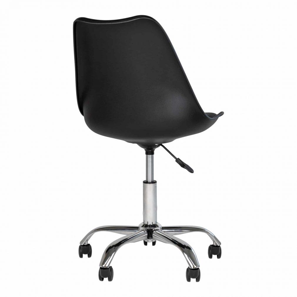 Chaise à roulette de bureau noir
