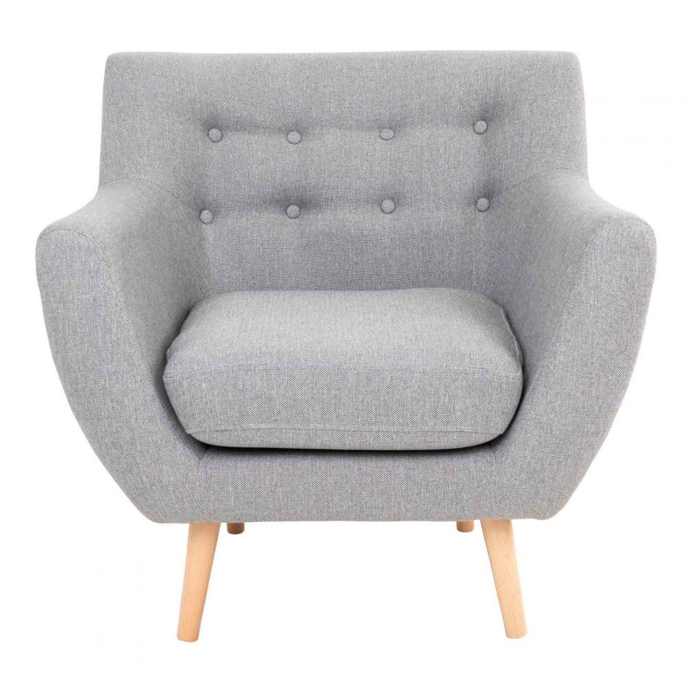fauteuil-gris-clair-capitonné